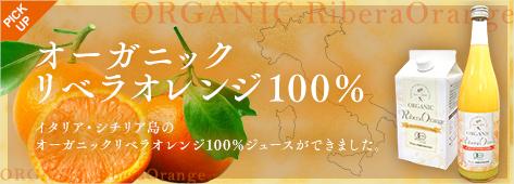 オーガニックリベラオレンジ100%
